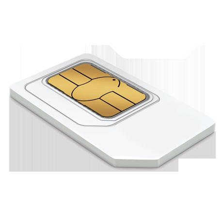 Carte multi SIM NFC