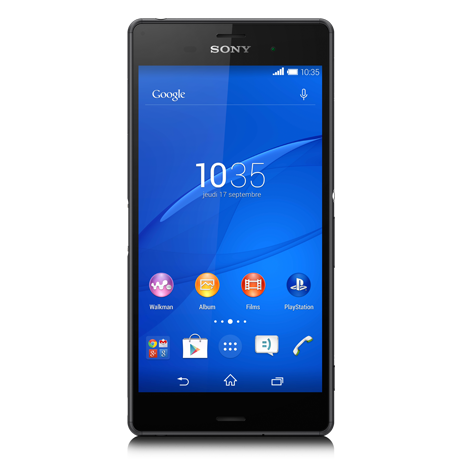 Xperia<sup style='font-size:0.5em'>MD</sup> Z3