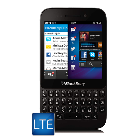 BlackBerry<sup style='font-size:0.5em'>MD</sup> Q5