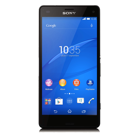 Sony Xperia<sup style='font-size:0.5em'>MD</sup> Z3 Compact