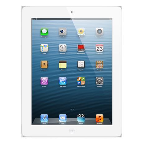 iPad avec écran Retina