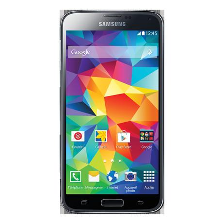 Samsung Galaxy S5<sup style='font-size:0.5em'>MC</sup>