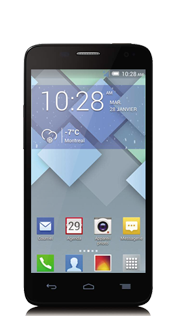ALCATEL ONETOUCH<br>Idol<sup style='font-size:0.5em'>MC</sup> Mini