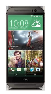 HTC One<sup style='font-size:0.5em'>MC</sup> (M8)