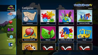 TumbleBooks TV app