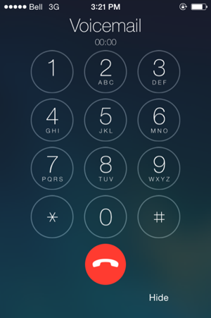 Switching from iPhone Visual Voicemail