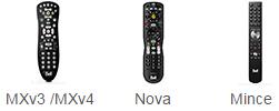 MXv3 remote