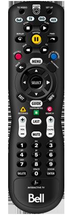 Slim remote
