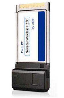 Carte PC P720 de Novatel Wireless