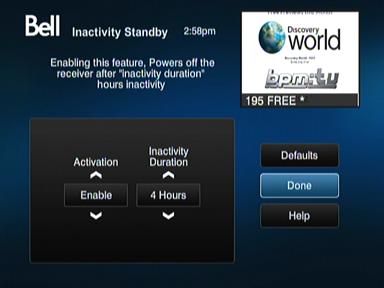 inactivitystandby