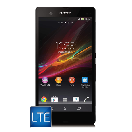 Sony Xperia<sup style='font-size:0.5em'>MD</sup> Z