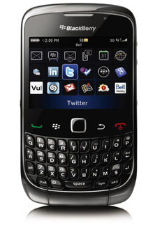 BlackBerry<sup>MD</sup> Curve<sup>MC</sup> 3G 9300