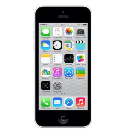 Apple iPhone 5c - Blanc